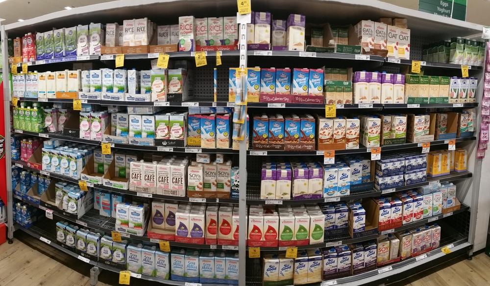 supermarket milk