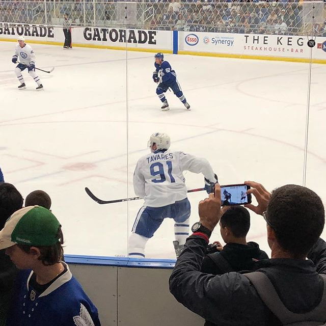 Nice to see Johnny #Tavares In the #blueandwhite at Maple Leafs Training Camp today