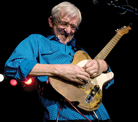 Bill Kirchen - LIVE at Gig Harbor Audio.  Nicest guy ever.