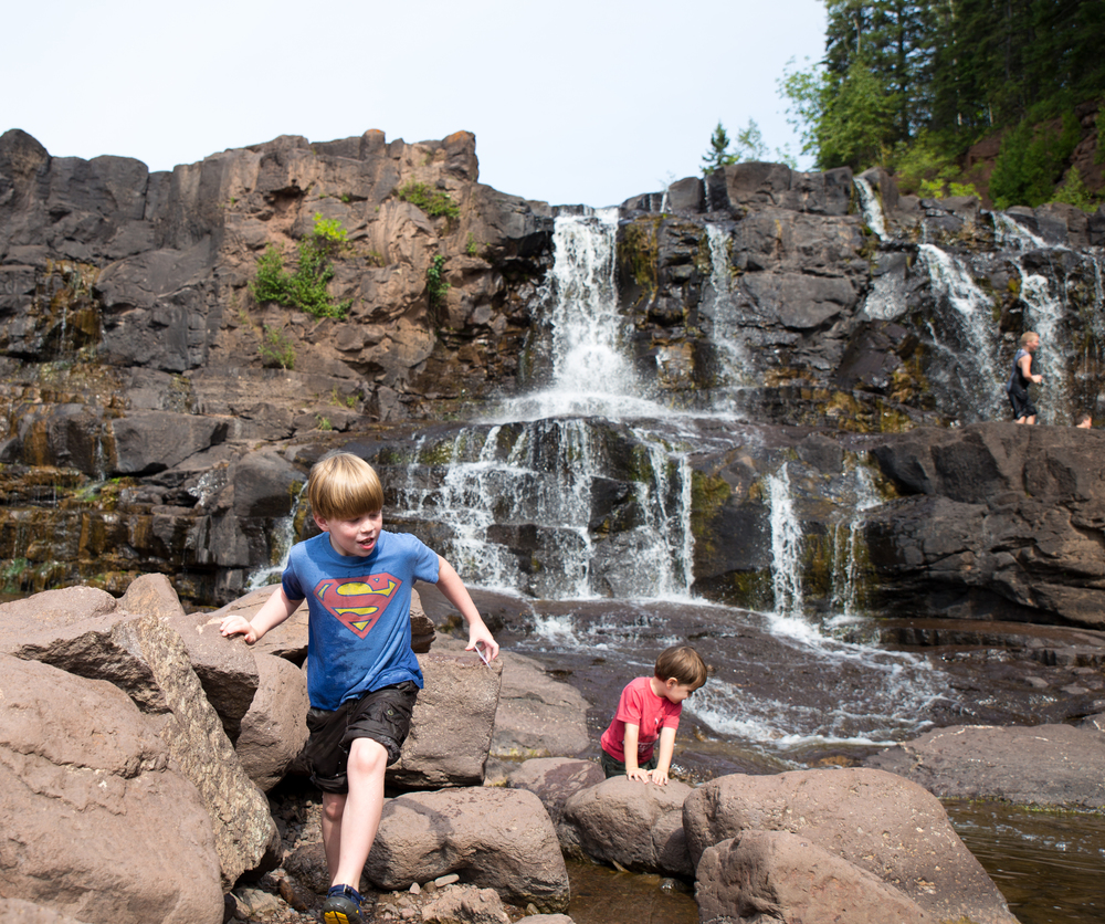 We Visited Places Such As Gooseberry Falls State Park, Split Rock Lighthouse  State Park, Park Point Rec Area In Duluth, Amnicon Falls State Park, ...