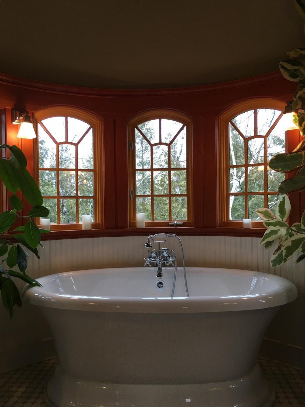 iPhone shot - i couldn't resist taking a shot of this dream tub!