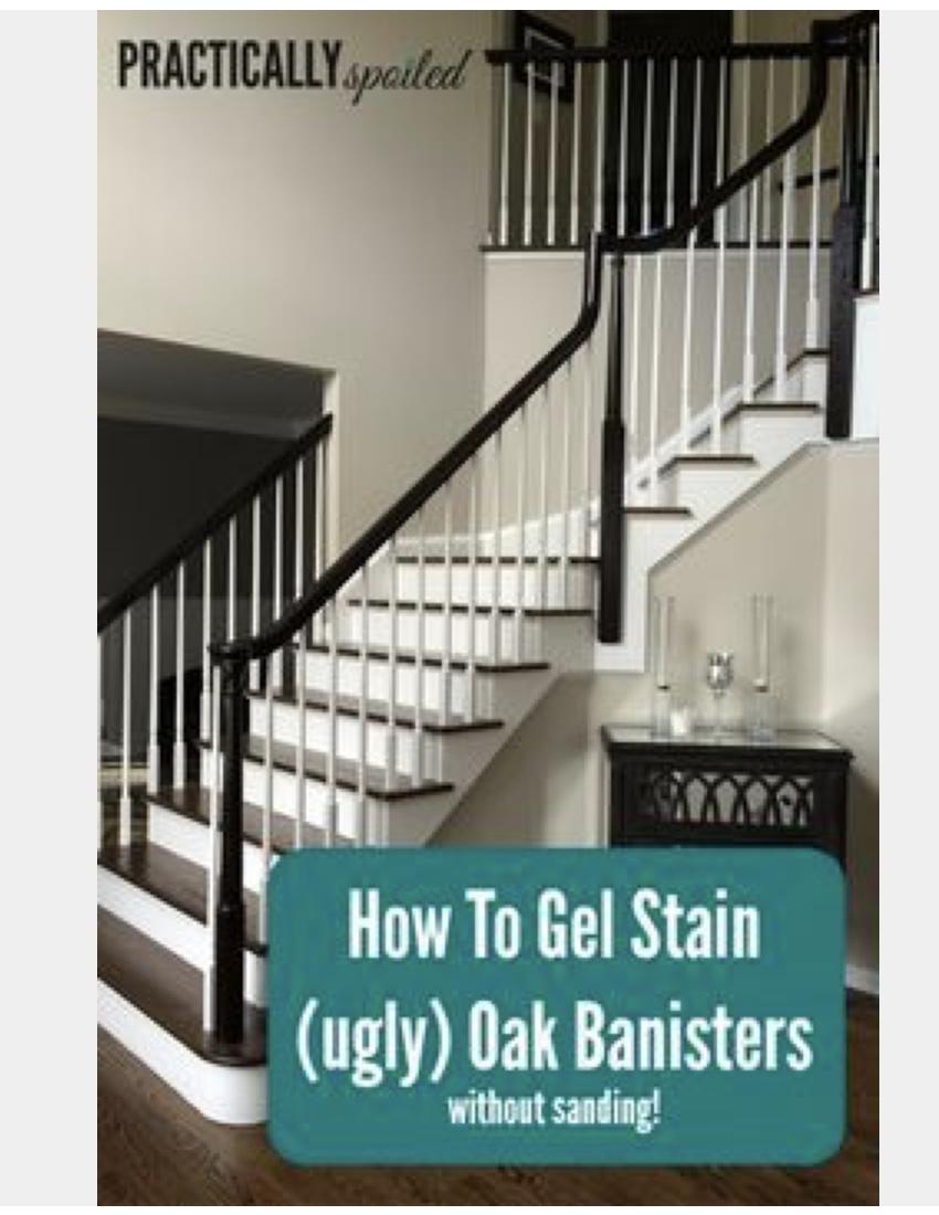 paint the railing black