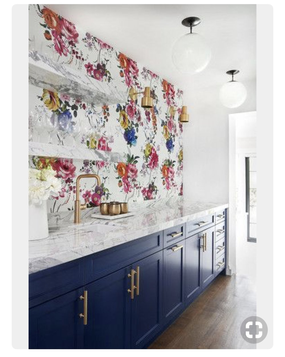 I love this idea. Paint the lowers, remove the uppers and paper the wall.