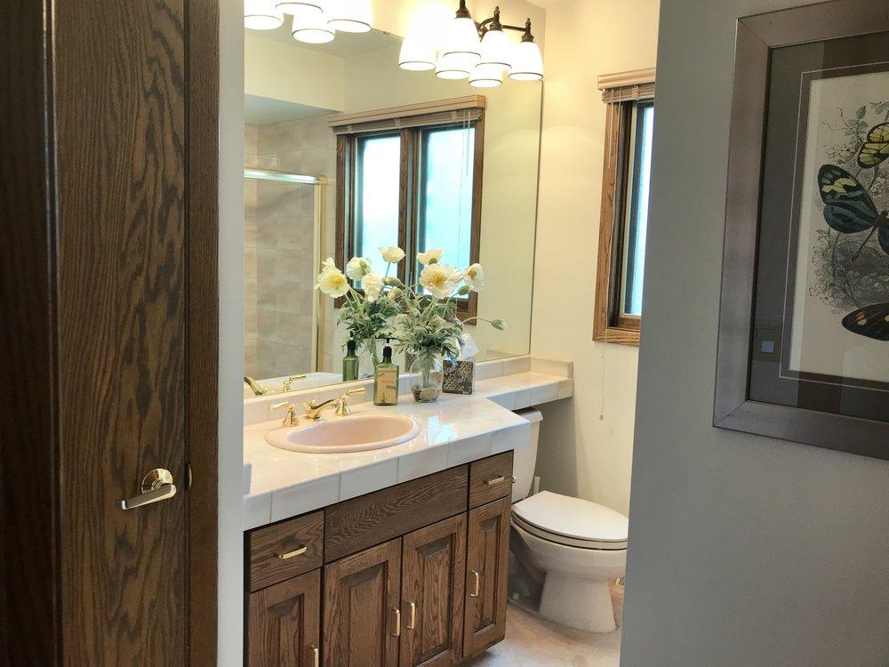 current bathroom