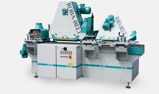 ROBA-BELT Profile Sander     Head Touch Area 24inches* LowRPM*Heavy Frame * Counter Rotation* Oscillation * Touchscreen Stored Profiles * Auto Axis Positioning