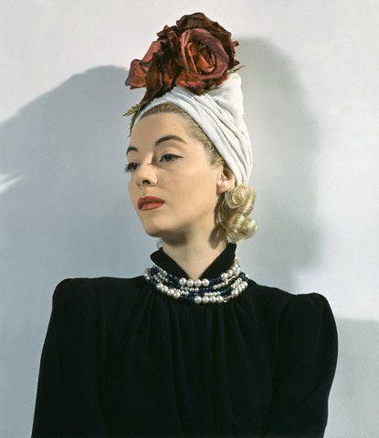 Vintage 1940's Turban