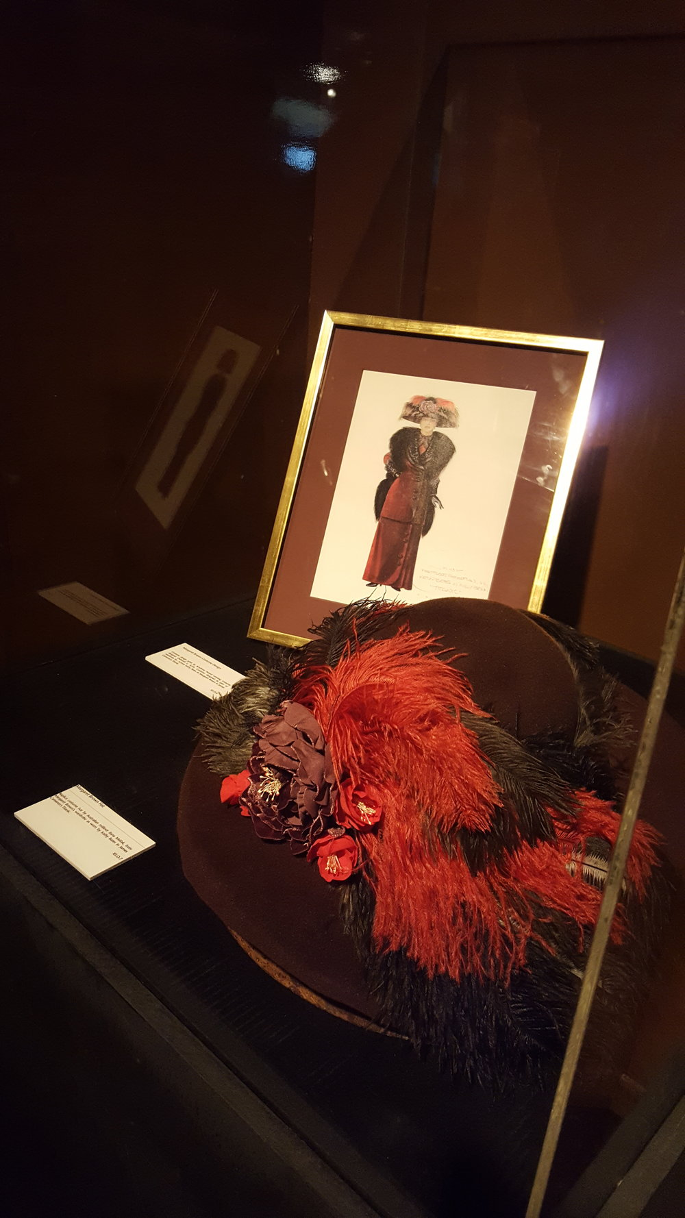 The House of Hats Molly Brown Hat for Titanic Exhibition  Sydney Millier .jpg
