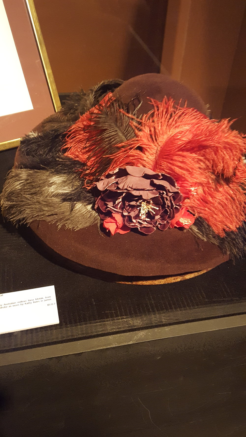 The House of Hats Moly Brown Hat For Titanic Exhibiotn .jpg