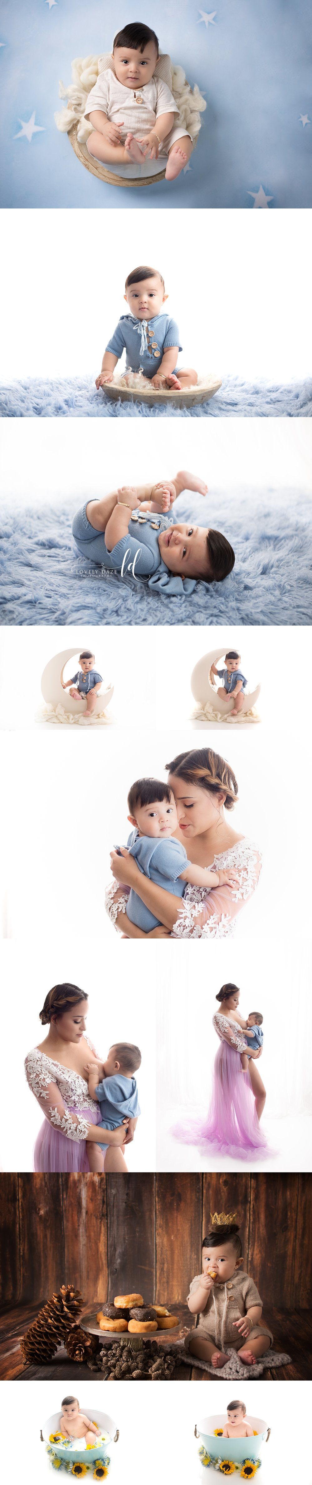 best nj baby photographer baby boy 6 month blue mommy and me lovely daze photography.jpg