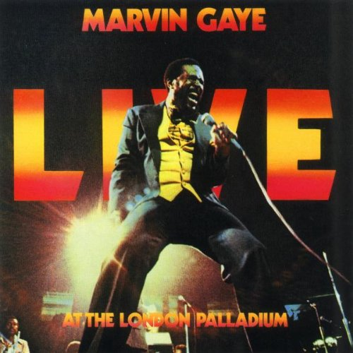 "Cover Art: ""Live At The London Palladium"" by  Marvin Gaye  (Tamla Records, 1977)"