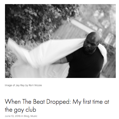 Word: My First Time At The Gay Club