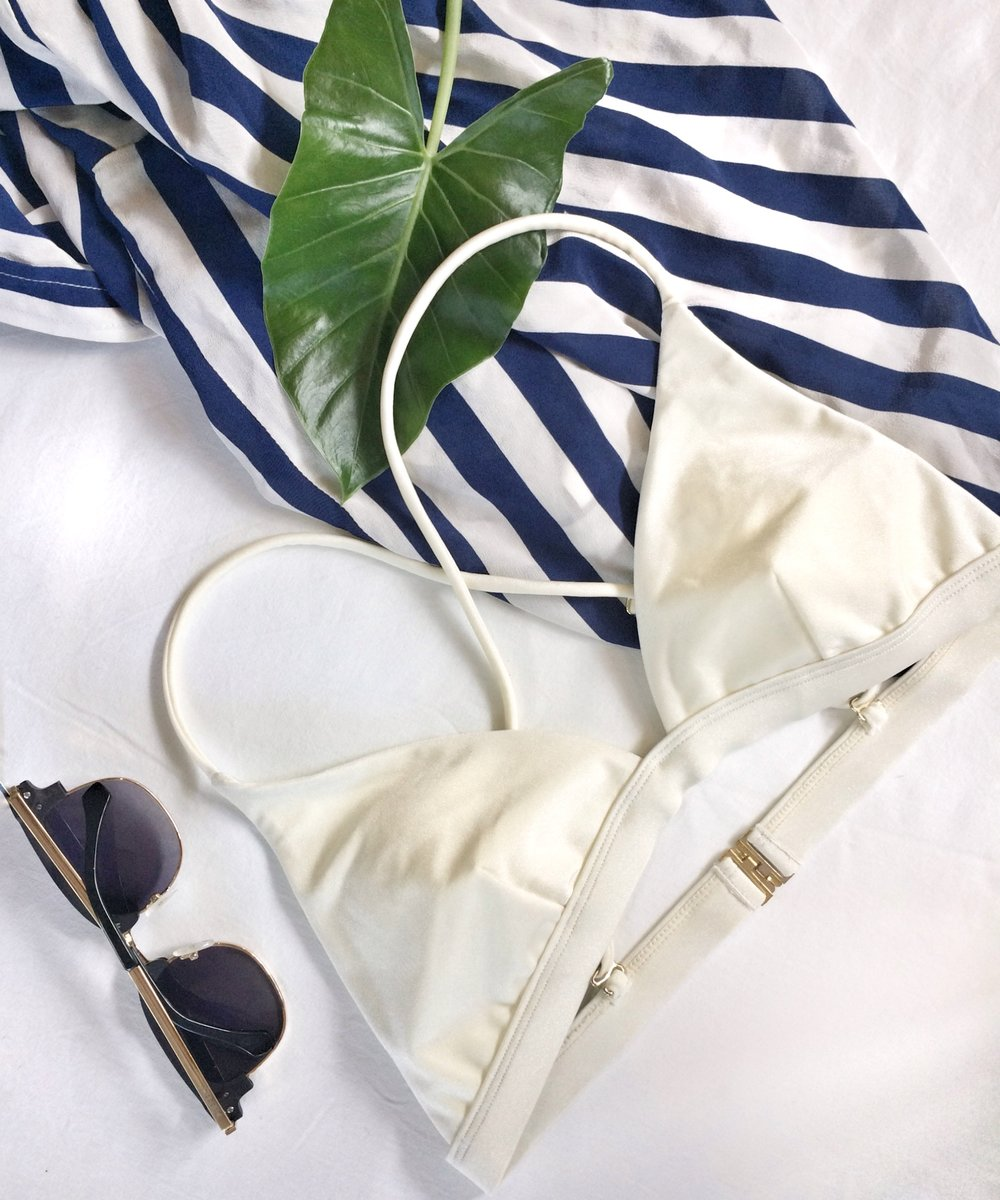 I Am Zazie Harper Bikini Coconut Swimwear Triangle Top