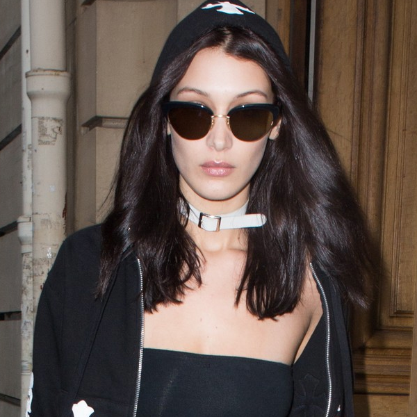 Bella Hadid wearing 'Pixie' in Black | READ MORE →