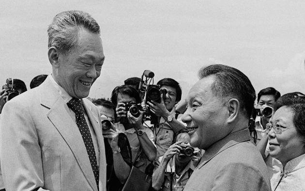 Lee Kuan Yew Met with Deng Xiaoping
