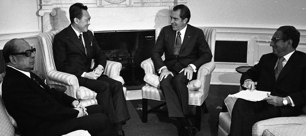 Lee Kuan Yew met with Nixon