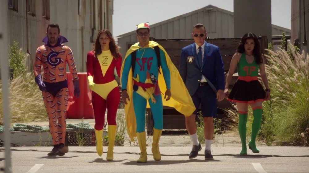 "Image from  Scorpion  Season 2 Episode 5: ""Super Fun Guys"" written by Adam Higgs and Nick Santora"