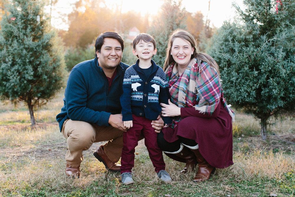 Joseph, Brittany, and Joseph Jr.