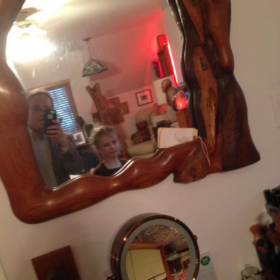 Mirror selfie.