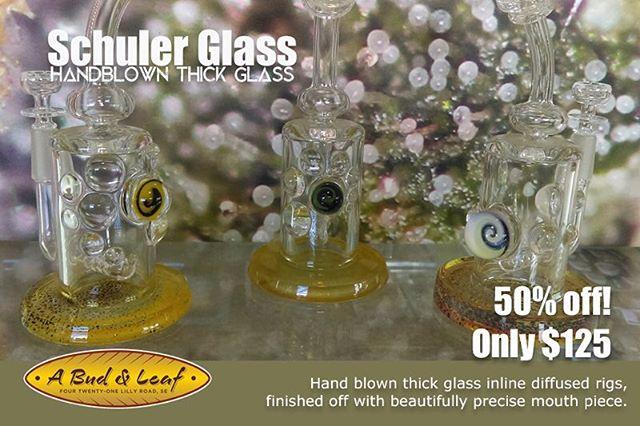 #HalfOff #Handblown Schuler glass!