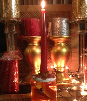 Honey Jar for love spells.