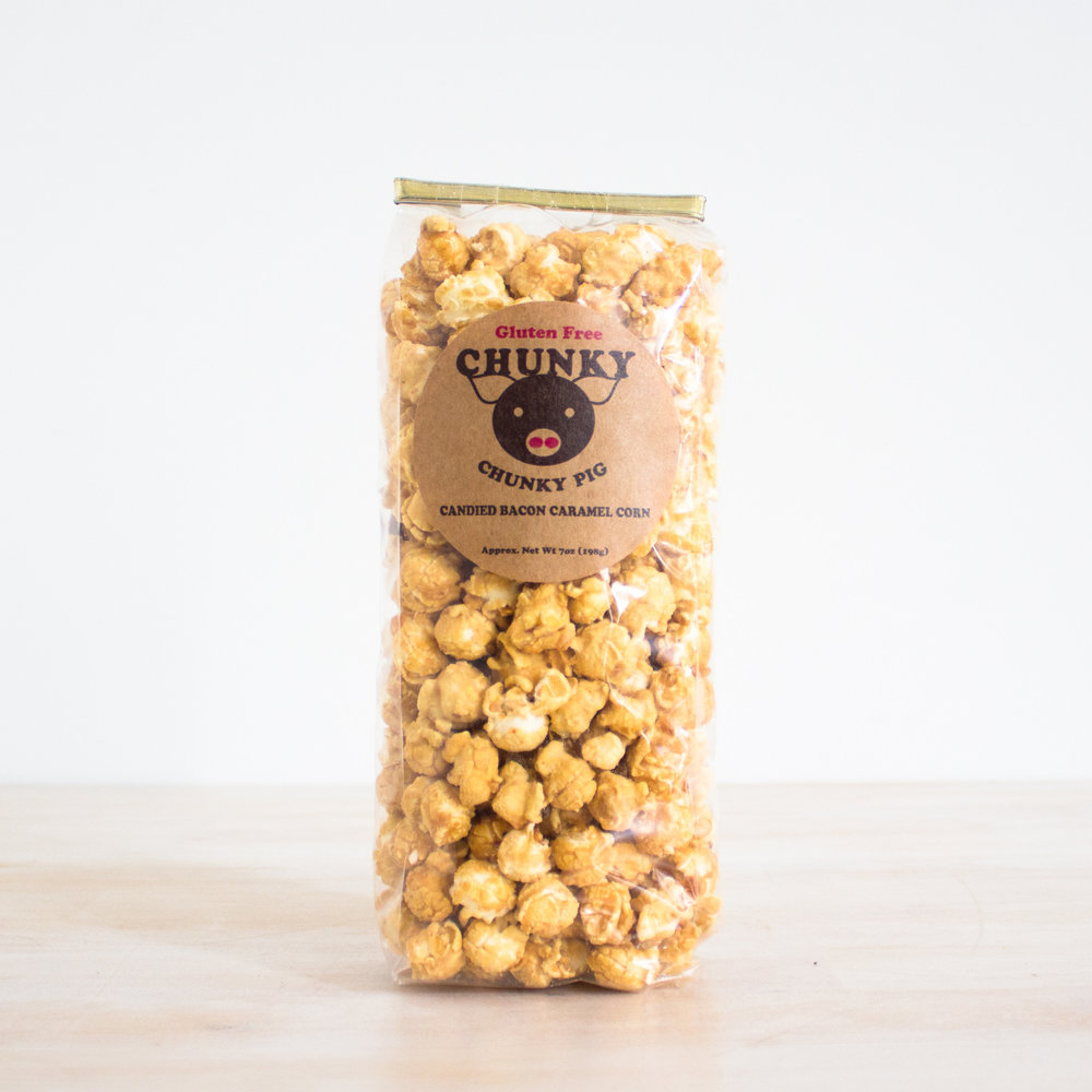 Chunky Pig Caramel Corn