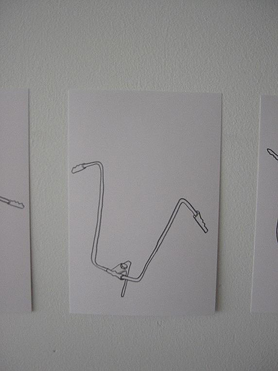 handlebars drawing