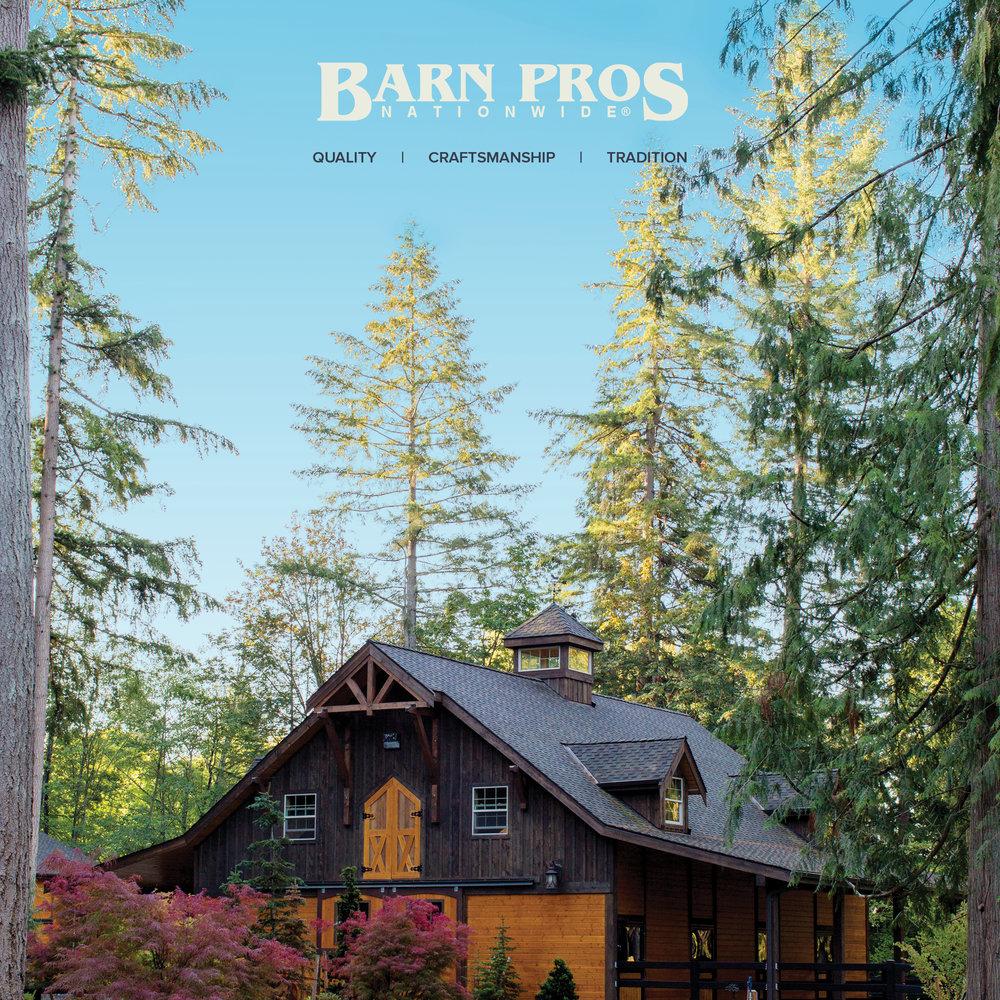 Barn Pros Catalog - Catalog Design // Page Layout // Photography