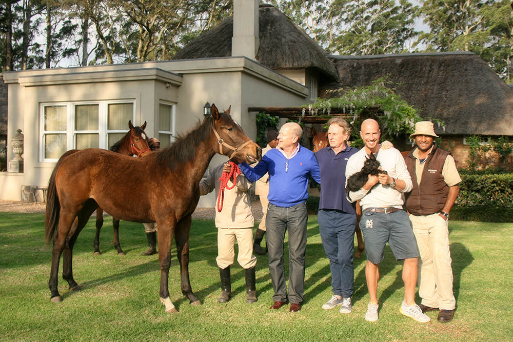 John Freeman's visit to Backworth Stud