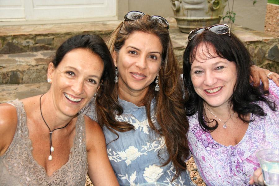 Beth Stols, Vanashree Singh and Janet McElligott