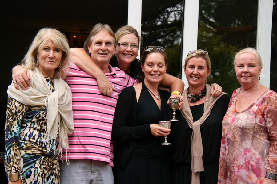 Vibeke Meehan, Carla Langley, Amanda McVeigh, Anne Colle and Sandra Krystofiak
