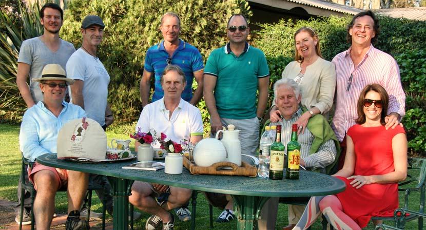 Robertson, de Marigny, Tyson, Cunnigham, the Farrells and de Klerks