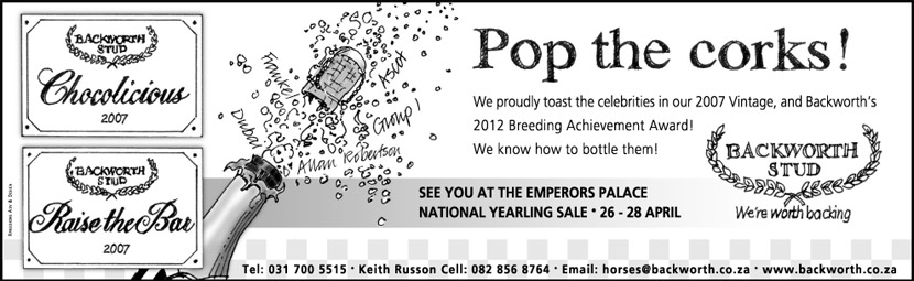 National Yearling Sale 2013 - Pop The Corks
