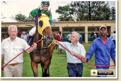 Devonella by Kahal wins at Scottsville Racecourse