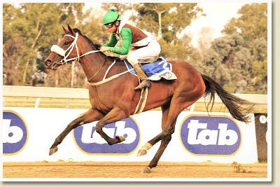 Raise The Bar wins the Nkosazana Stakes