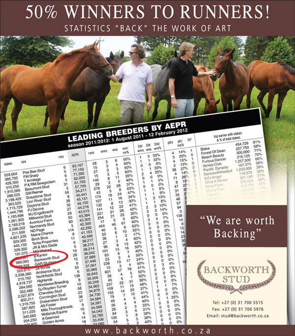 Racehorse Breeders South Africa