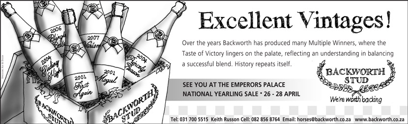 National Yearling Sale - Excellent Vintages