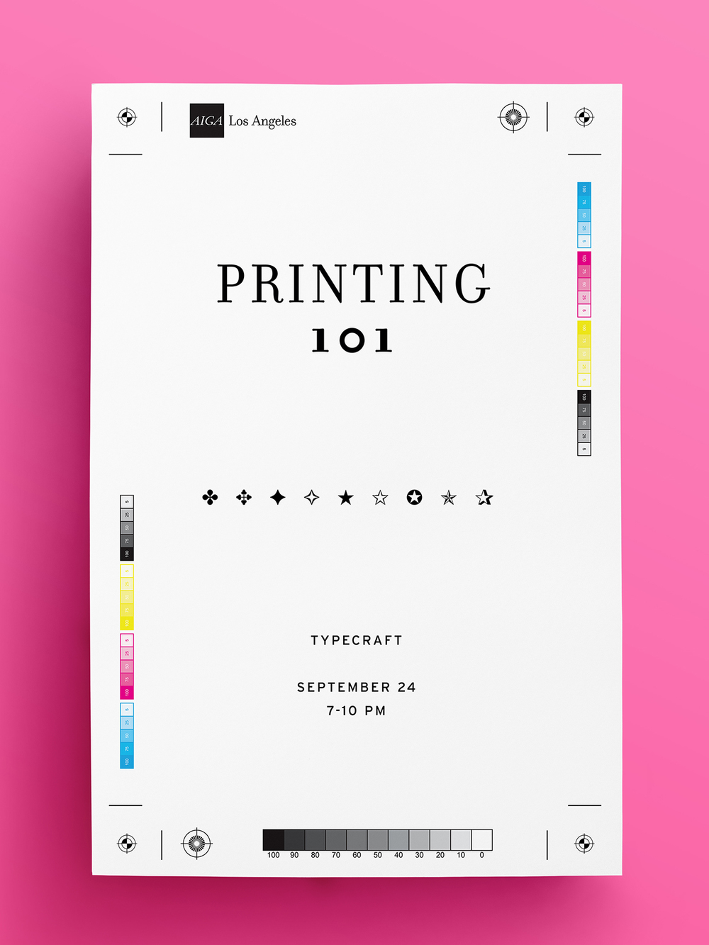Printing 101 at Typecraft