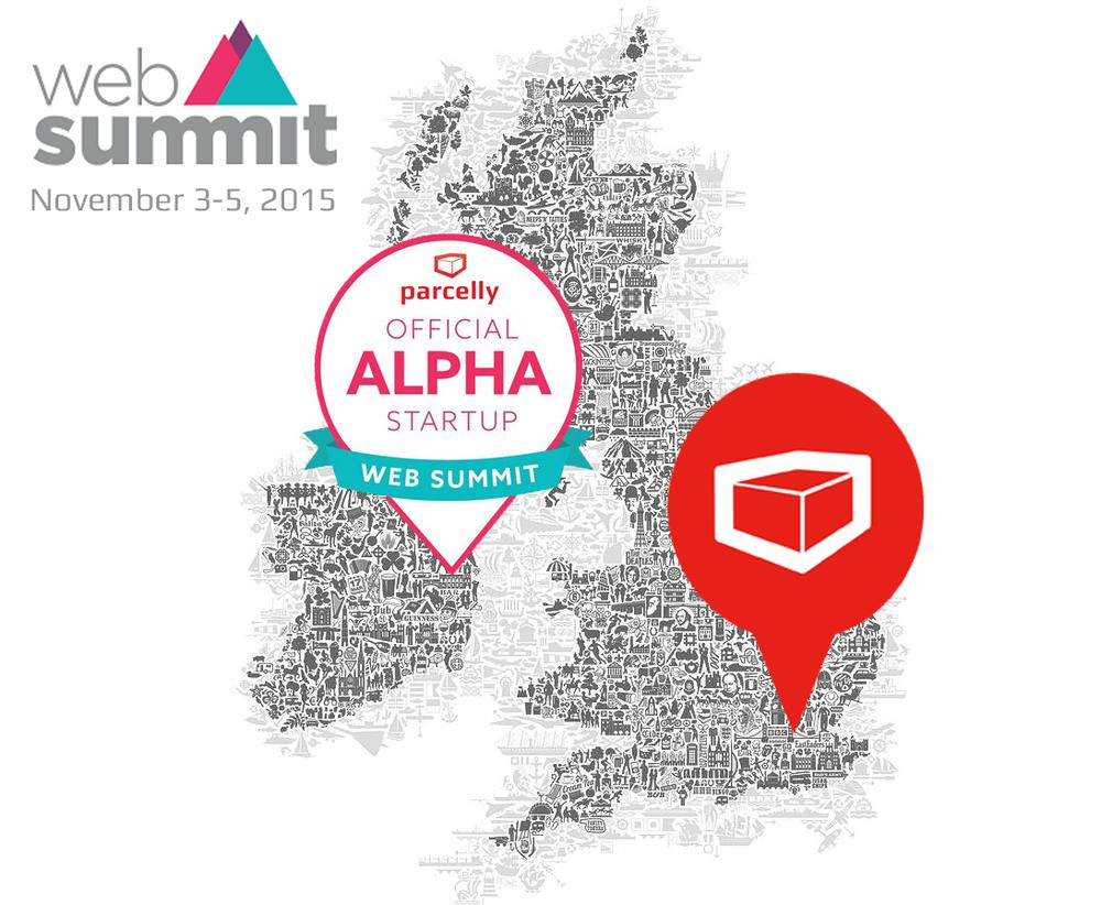 Parcelly Alpha Web Summit 2015 Dublin
