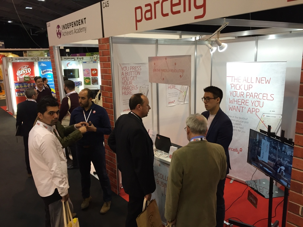 The show was a powerful and productive platform for    Parcelly  to gain new business partners and demonstrate our innovative  click and collect  solution to  local retailers .