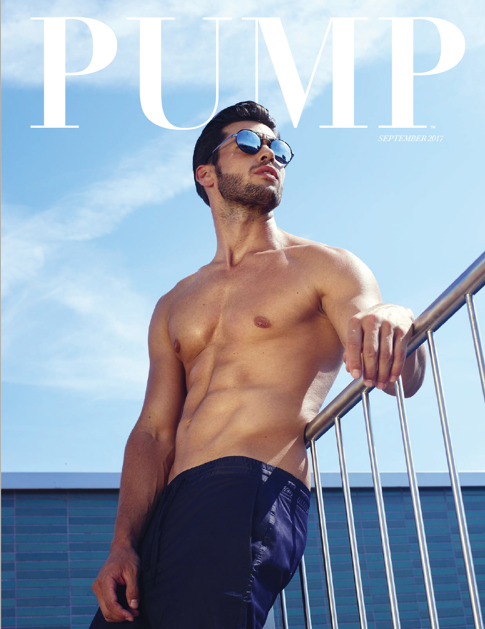 Coverstory PUMP Magazine - Swim Issue