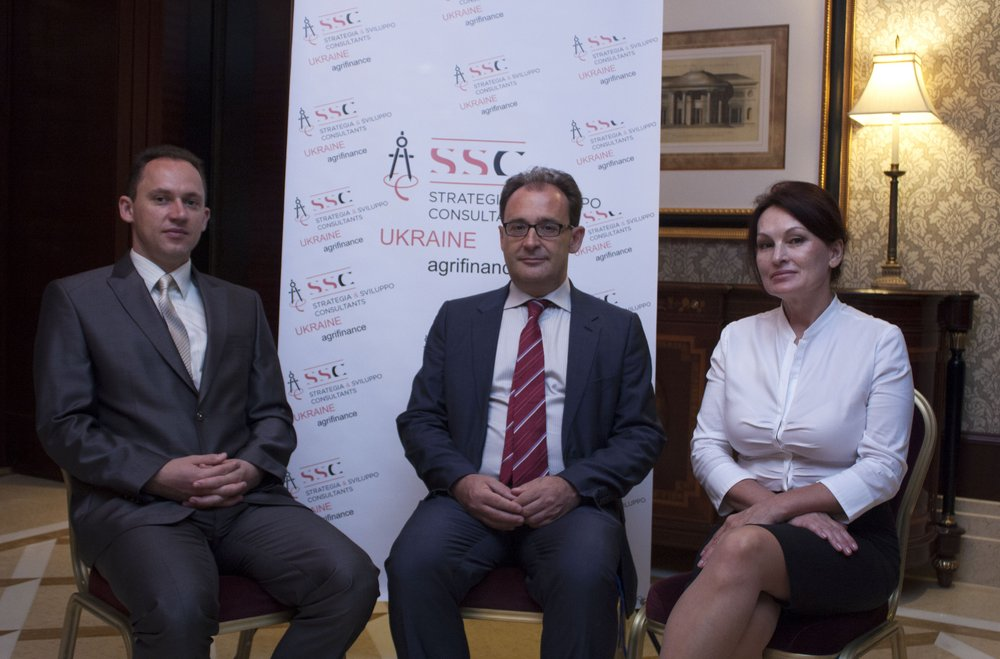 "Oleksandr Zhuravel, Fabrizio Zucca and Liudmyla Tymoshenko, ""Strategia & Sviluppo Consultants"""