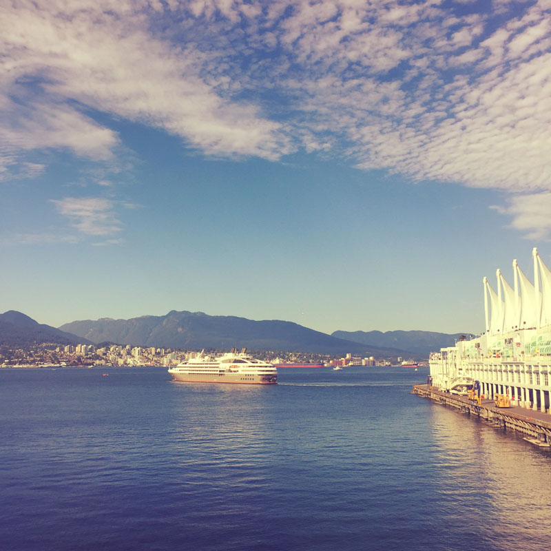 Another gorgeous day in Vancouver.