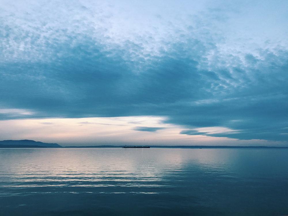 Bellingham sunset | kerstinmartin.com