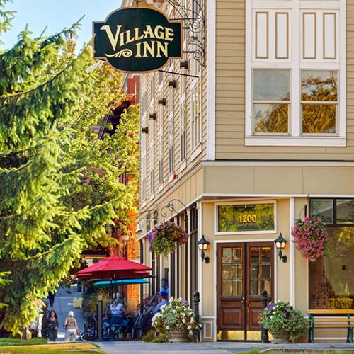 Website for Fairhaven Village Inn by Kerstin Martin