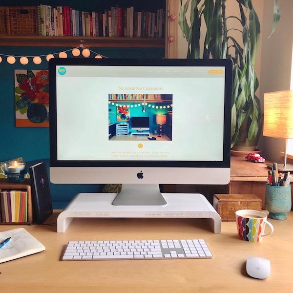 50% off all Squarespace e-courses | Kerstin Martin Squarespace Studio