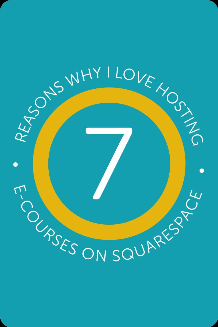 7 Reasons Why I Still Love Hosting my E-Courses on Squarespace・Kerstin Martin Squarespace Studio