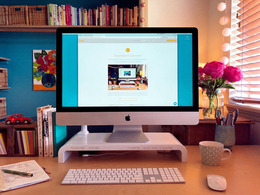 7 reasons why I still love hosting my online courses on Squarespace・Kerstin Martin Squarespace Studio