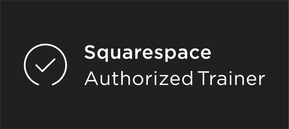 Squarespace Authorized Trainer