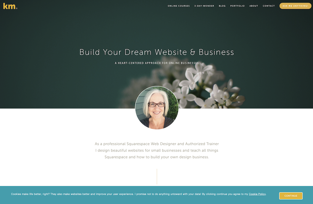 Customize your Squarespace Cookie Banner・Kerstin Martin Squarespace Studio