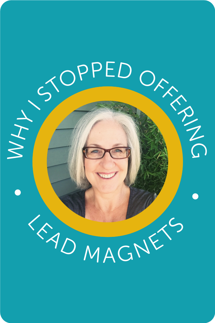 Why I stopped offering Lead Magnets・Kerstin Martin Squarespace Studio